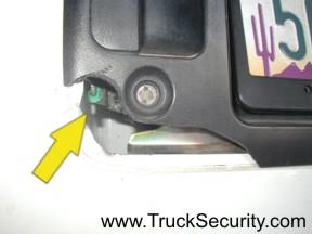 Truck Security Chevy Express Van Door Plates