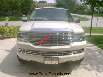 Hood Latch Guard For Ford And Lincoln